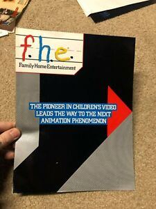 FHE ROBOTECH  AD SLICK 80s VIDEO STORE VHS PROMO RARE