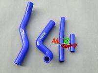 For Suzuki RM125 2001-2008 02 03 04 05 06 07 silicone radiator hose blue