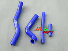 For Suzuki RM125 2001-2008 02 03 04 05 06 07 silicone radiator hose blue