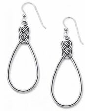 Brighton Interlok Knot French Wire Earrings