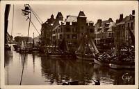 Le Croisic Frankreich CPA 1942 Contre-jour sur le Port Fischerhafen Segelboote