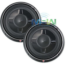 "(2) *NEW* ROCKFORD FOSGATE P3SD4-12 12"" SHALLOW PUNCH CAR SUBWOOFERS SUBS *PAIR*"