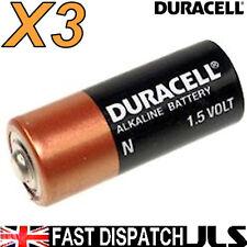 3 DURACELL N  LR1 MN9100 E90 AM5 KN Alkaline Batteries