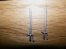 2 Schwerter für Britains Swoppet Amerik.Bürgerkrieg Offizier,ACW Officer Sword