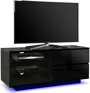 Centurion Supports Supports Gallus Premium High Gloss Black with 2-Black Drawers