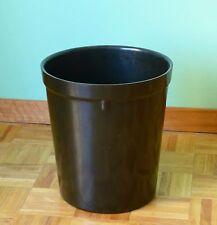 Corbeille à papier poubelle ART DECO en bakélite ancienne époque années 30/40