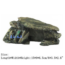 Fish Tank Decoration Terrarium Accessories Stones Aquarium Hiding Cave Rock
