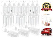 20 Pack Needle Tip Glue Bottle Applicator Precision Tip Liquid Dropper Bottles