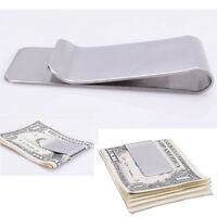 Slim-Clip Stainless Steel Money Clip Credit Card Holder - No More Bulky Wallets!