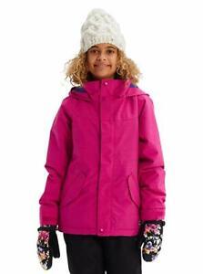 Burton Elodie Snowboard Jacket - Youth Girls - Large, Fuchsia Heather