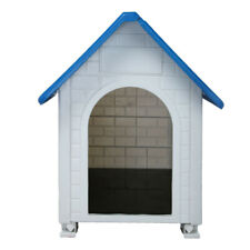 Dog Kennel For Large Dogs Outdoor Pet Insulated Cabin House Big Shelter 32.3""