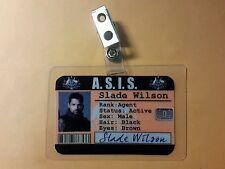 Arrow ID Badge - ASIS Slade Wilson  cosplay prop costume
