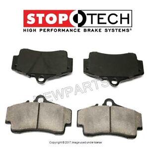 For Porsche 911 Boxster Cayman Rear Disc Brake Pad StopTech Sport 309.07380
