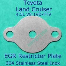EGR Blanking Restrictor Toyota Land Cruiser V8 1VD-FTV 4,461cc 70 and 200 Series