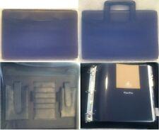 Attache 3 Ring Binder Brief Case Fold Plan Pro Organize Laptop iPad Holder Black