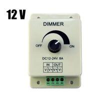 DC 12V 8A Light Dimmer Brightness Control For Single Color LED Strip ED