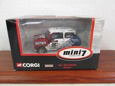 Corgi. Mini 7 Racing Club. Mini Miglia. Max Hunter. No 46. 1:36. CC82256