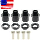 4PCS 12mm to 17mm Aluminum Wheel Hex Hub Adapter Conversion Extension For RC Car