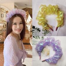 Fashion Mermaid Bubble Hair Hoop For Women Hair Band Headbands Hair Accessories
