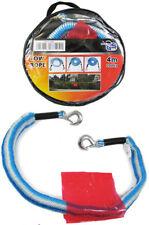 KFZ Sicherheits Abschleppseil elastisch 4m bis 2t Pannenhilfe blau