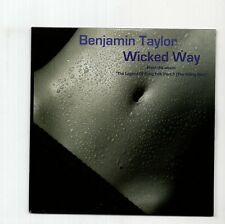 (JA571) Benjamin Taylor, Wicked Way - 2009 DJ CD