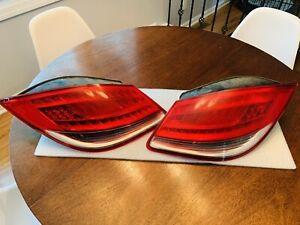2011 Porsche Boxster OEM Tail Lights Original Working Fits 2009-2012