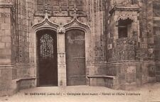 GUERANDE - Collegiate church Saint-Aubin - Portal and Chair Outdoor
