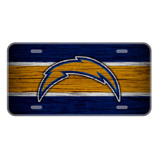 #220 LA CHARGERS LICENSE PLATE