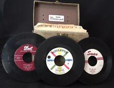 Nice Lot 47 45 Records 1950's-1960's Doo Wop Johnny Cash Sinatra Platter Pak
