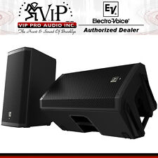 "2x Electro-Voice EV ZLX-12P 12"" Active 2-Way Powered Loud-speaker Monitor 1000W"