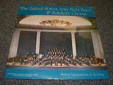 The United States Army Field Band & Soldiers Chorus~SEALED~FAST SHIPPING
