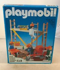 playmobil builders 3492 Rare Vintage Playmobil Builders Set