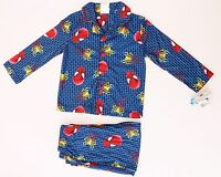 Marvel Spider-Man Kids Boys 2 Piece Pajama Set Sizes 4,6,8,10 NWT