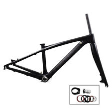 "26er Carbon Mtb Bike Frame 14"" Mountain Frameset/Fork BB92 135*9mm Thru Axle"