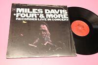 MILES DAVIS LP LIVE IN CONCERT FOUR & MORE MINT UNPLAYED MAI SUONATO !