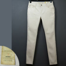 M&S INDIGO Mid Rise SKINNY Leg JEANS ~ Size 20 Medium ~ ECRU