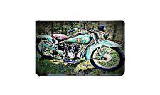 1929 henderson excelsior Bike Motorcycle A4 Retro Metal Sign Aluminium