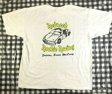Destruction Derby Stock Car Redneck Rookie Racing #7 Evan McCray White T Shirt