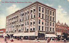 1909 Lee Office Building, Oklahoma City, Oklahoma Postcard