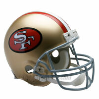 SAN FRANCISCO 49ERS 64-95 THROWBACK NFL AUTHENTIC FOOTBALL HELMET