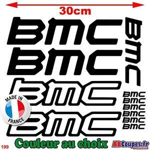 11 Aufkleber BMC - Aufkleber Rahmen Fahrrad Mountainbike Montain - 199