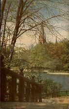 1917 Stempel Treysa auf alter AK gelaufen nach Wetzlar Kirche Natur Landschaft