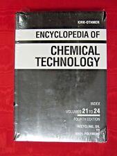 KIRK-OTHMER ENCYCLOPEDIA OF CHEMICAL TECHNOLOGY; VITAMINS-ZONE REFINING, VOL 25