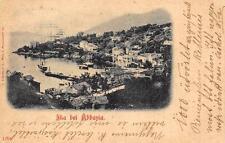 C1549) CROAZIA IKA BEU ABBAZIA VIAGGIATA NEL 1900.