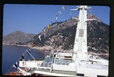 May 1970  kodachrome photo slide  ship MS Rotterdam ?? Cabo Formentor Spain