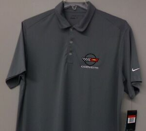 Chevrolet Corvette C4 Nike Dri-Fit Mens Embroidered Polo XS-4XL, LT-4XLT New