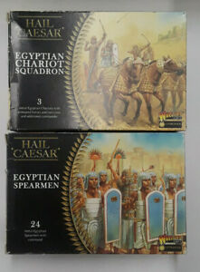 "Warlord Games ""Ancient Egyptians LOT"" of 28mm Historical Wargaming Miniatures"