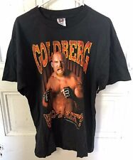 "Vintage 1998 WCW Goldberg ""Who's Next!"" Men's Large T-Shirt NEW"