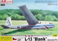 L'AMMIRAGLIO 1/48 Let L-13 BLANIK AEROCLUB Pt.1 # 4803