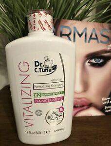 Farmasi Dr. C Tuna Vitalizing Shampoo Garlic 500ml New